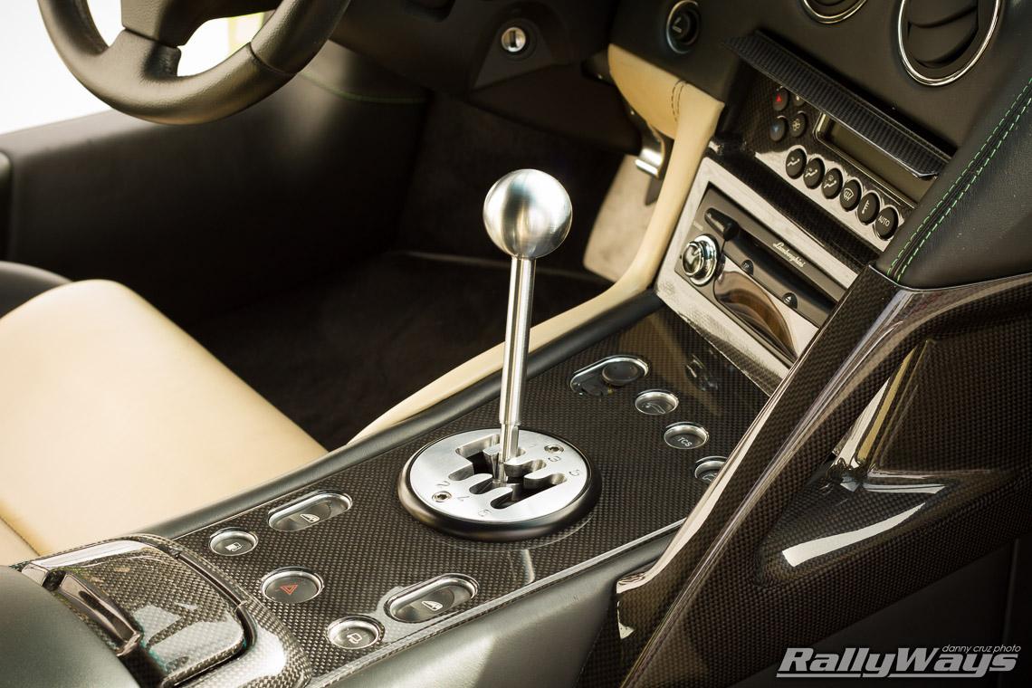 Lamborghini murcielago stick shift