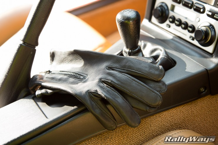 Miata Leather Driving Gloves