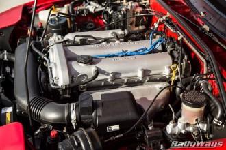 NA8 Miata Engine Bay