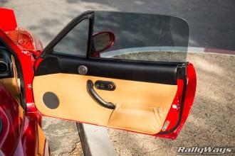 NA Miata Door Panels & One Amazingly Clean Miata - The 1995 RallyWays Miata NA8