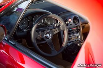 Nardi Deep Corn Miata Steering Wheel