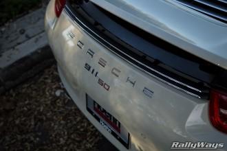 Porsche 911 50 Anniversary Back Badge