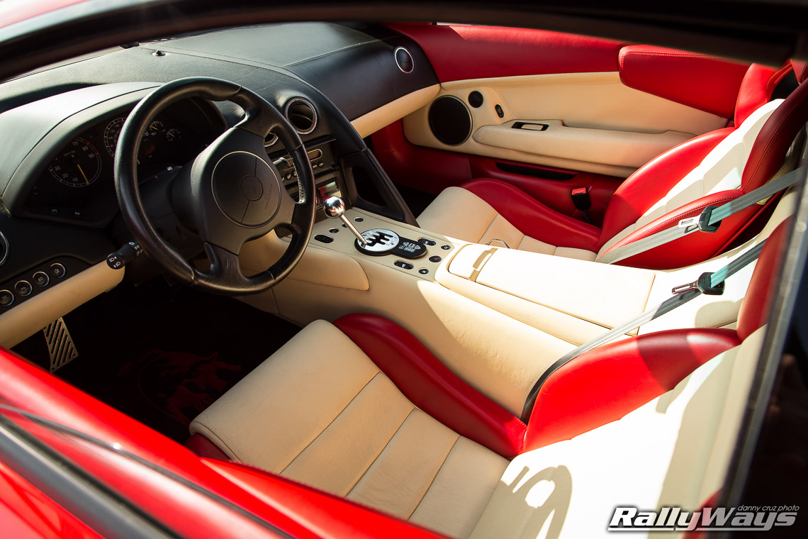 Lamborghini Murcielago Stick Shift Manual Super Car Rallyways