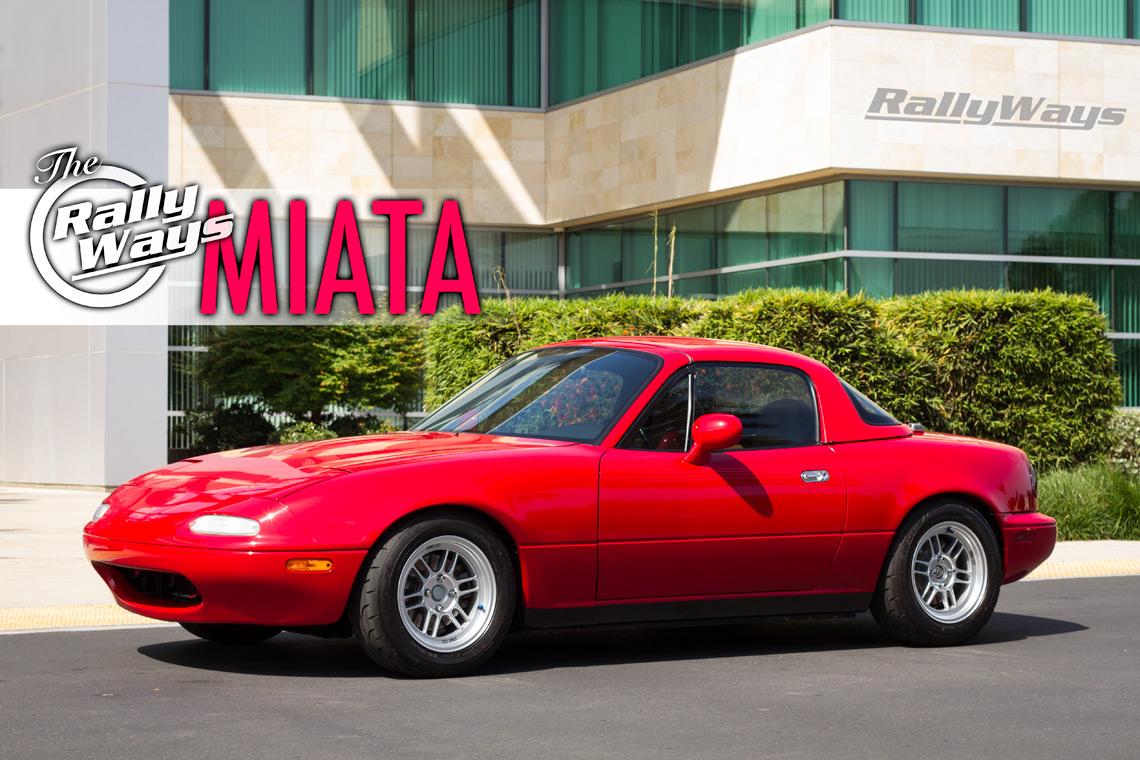 One Amazingly Clean Miata – The 1995 RallyWays Miata NA8
