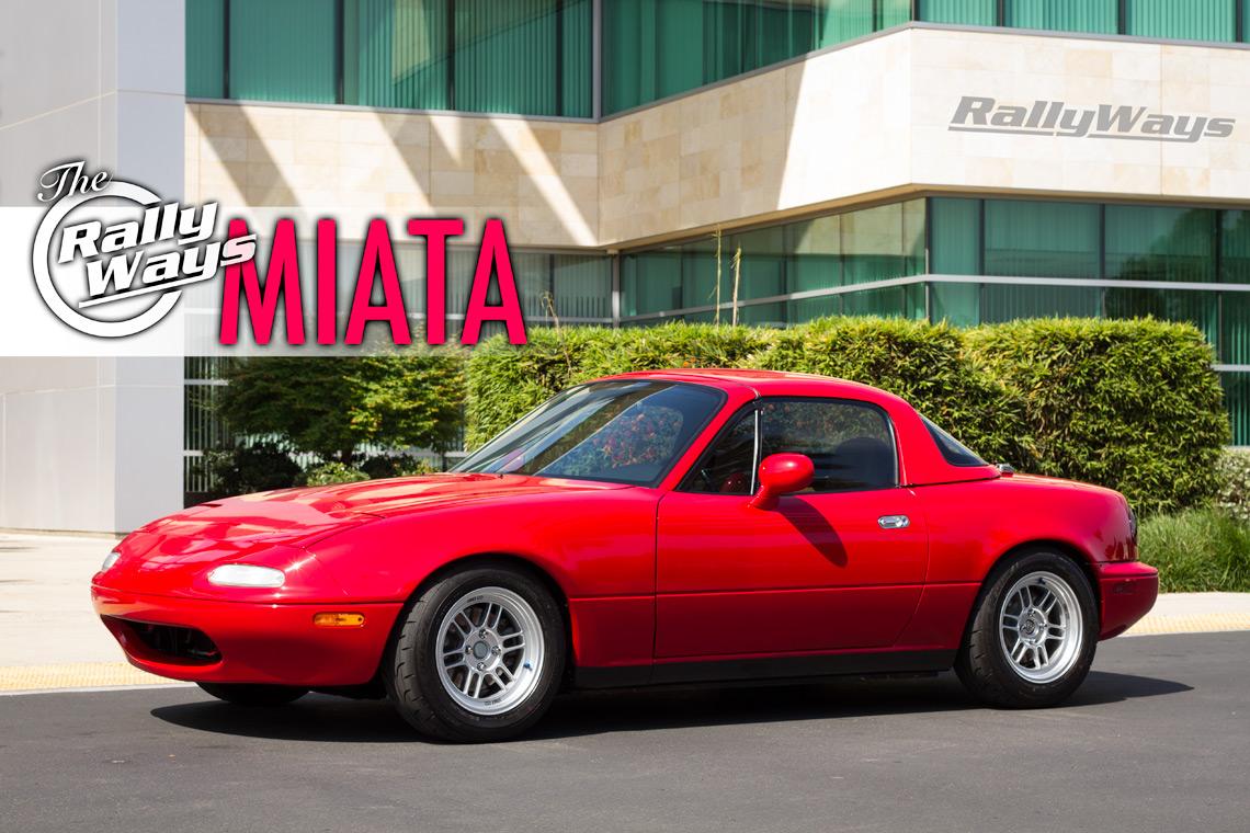 One Amazingly Clean Miata - The 1995 RallyWays Miata NA8