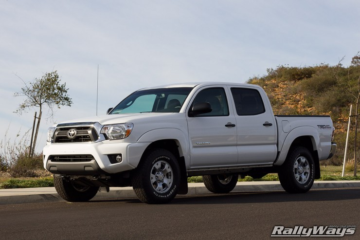 Toyota Tacoma Super White Production