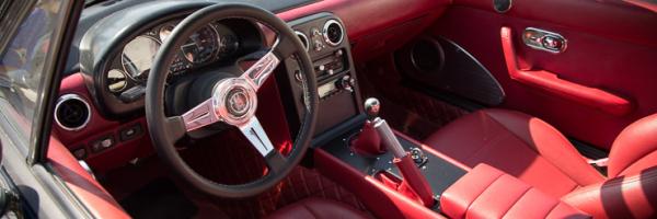 Cxmoney Miata With Red Interior