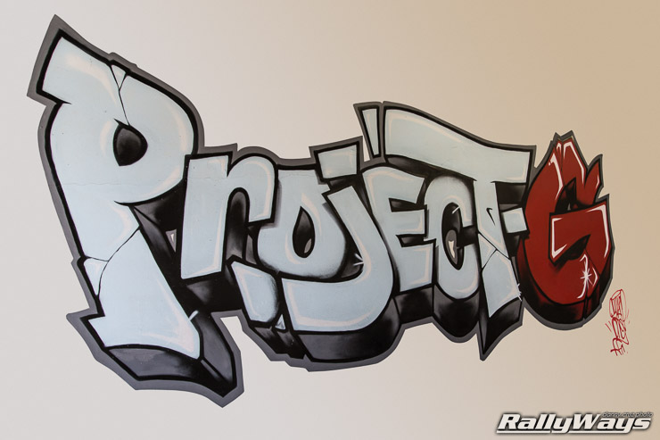 Project G Graffiti Logo