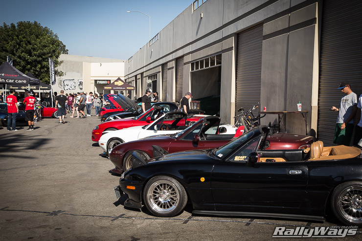 Project G Miata Meet
