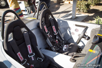 Seats in the MX5 Catfish
