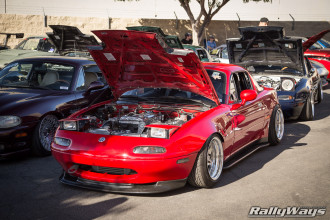 No Shortage of Custom Miatas