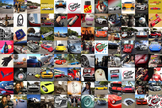RallyWays Photo Collage - Social Media Sites for Cars