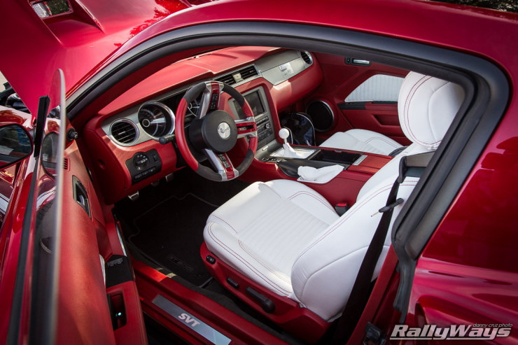 Retrobuilt Shelby Custom Interior