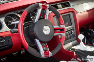 Custom Shelby Steering Wheel Leather