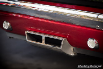 Shelby Rectangular Tail Pipes