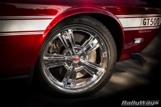 Genuine Shelby Chrome Wheels