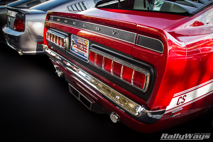 Retrobuilt 1969 Shelby GT500 Tail