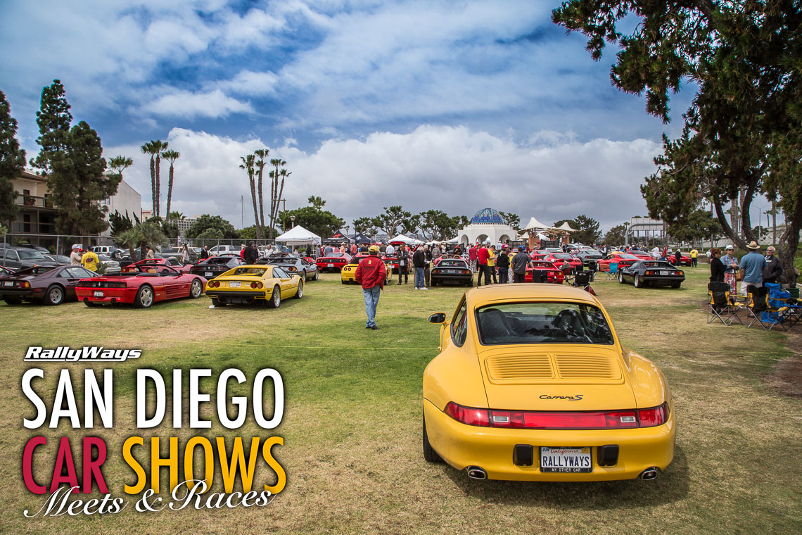 San Diego Car Shows Meets And Races RallyWays - Sports car shows near me