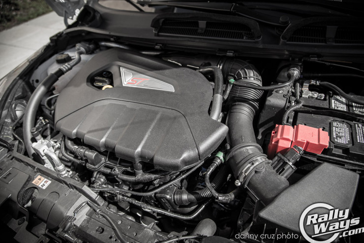 2014 Ford Fiesta ST Engine Bay