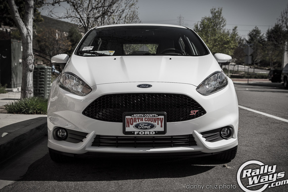 Ford Fiesta St 2014 White