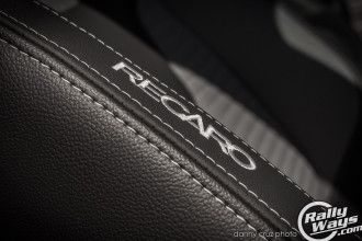 Embroidered Recaro logo