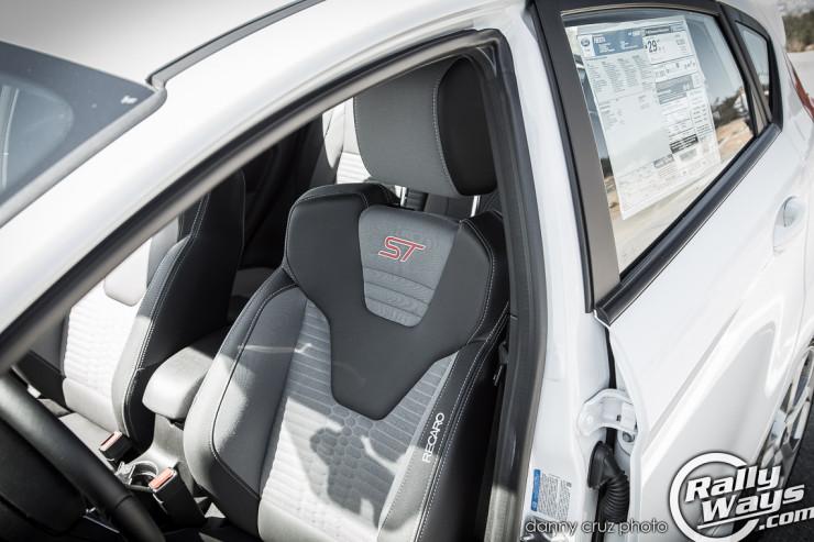 Fiesta ST Recaro Seats