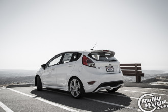 Ford Fiesta ST Rear Three Quarter