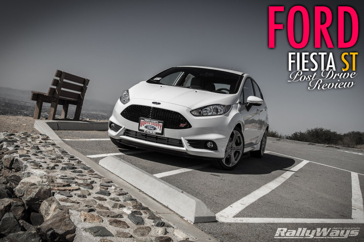 Ford Fiesta ST Review Pocket Rocket Post Drive