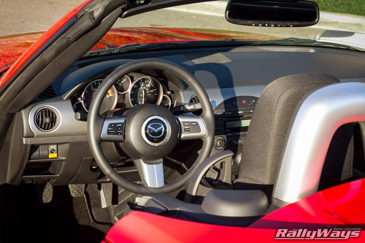 2011 Mazda MX-5 Dashboard - NC Miata - RallyWays