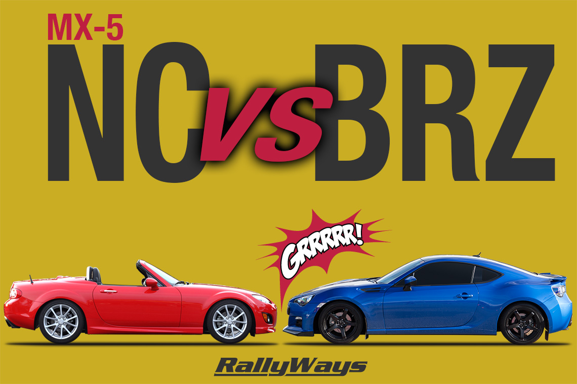 Miata vs BRZ Affordable Sports Cars