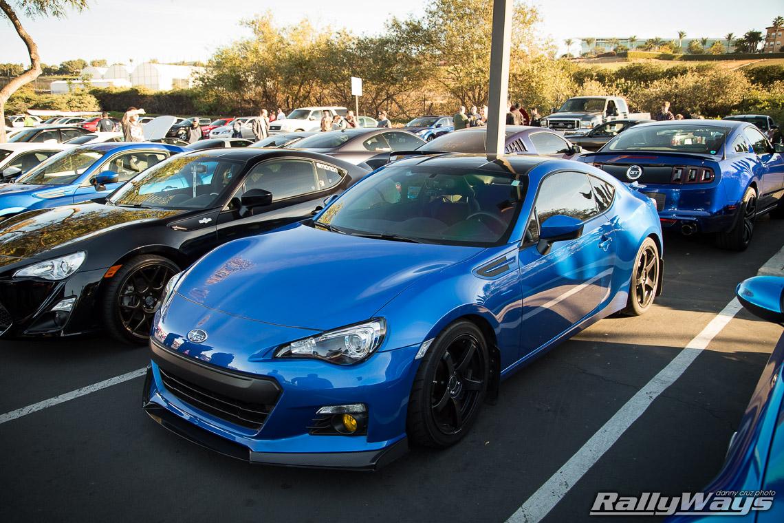 wr Blue Pearl Subaru Brz