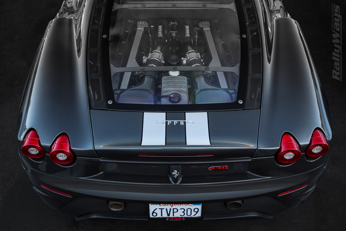 Ferrari F430 Scuderia Glass Engine Cover