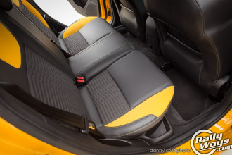 2014 Ford Focus ST Back Seats