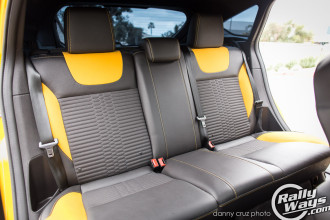 2014 Ford Focus ST Rear Seats View