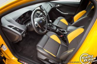 2014 Ford Focus ST Front Recaro Seats