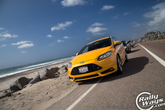 Ford Focus ST at the Beach