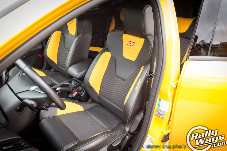 Ford Focus ST Recaro Seats