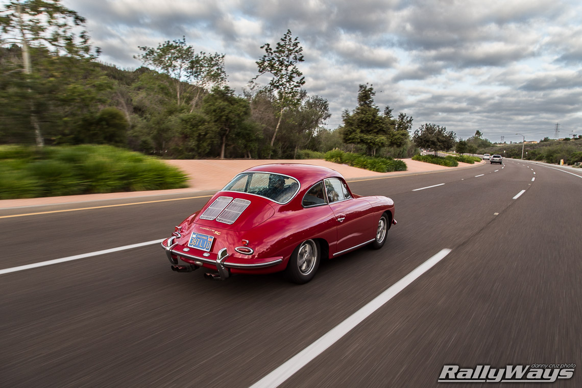 Porsche 356SC RallyWays Rolling Shot