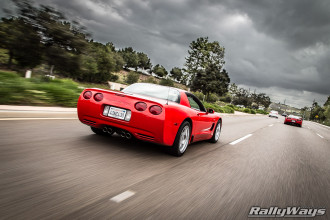 RallyWays Corvette Z06 C5 Rolling Shot