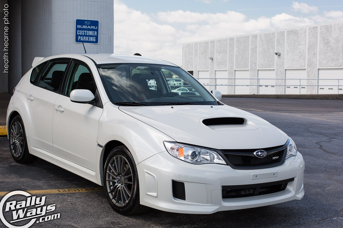 Subaru wrx hatchback 2013 white for White pearl