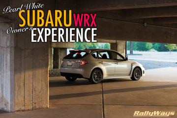 Pearl White Subaru WRX Hatchback Owner's Experience