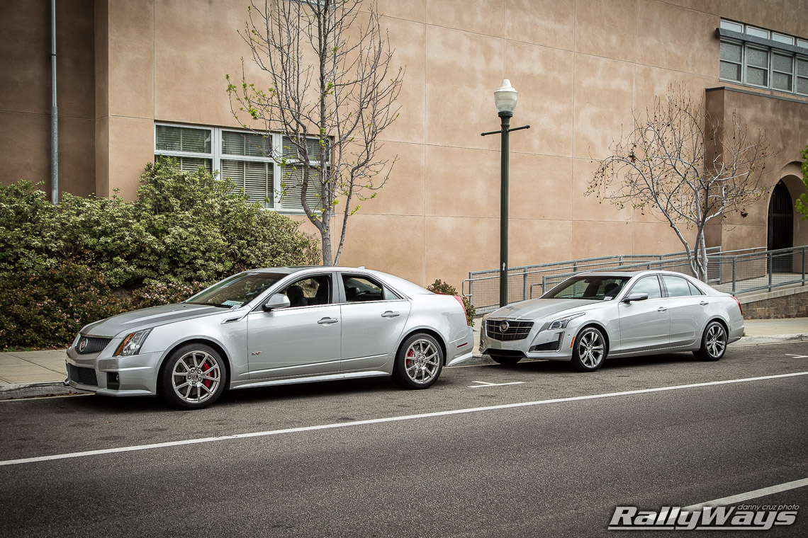 Sporty Cadillac Review Back To Back Cts V And Cts Vsport