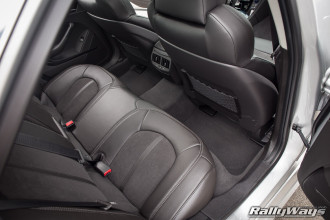 2014 Cadillac CTS-V Back Seats