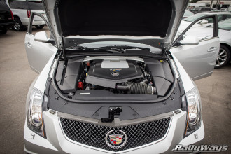 2014 Cadillac CTS-V Supercharged Engine