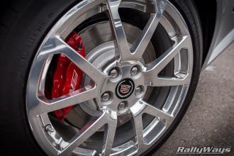 2014 Cadillac CTS-V Polished Wheels