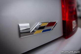 2014 Cadillac CTS Vsport Badge