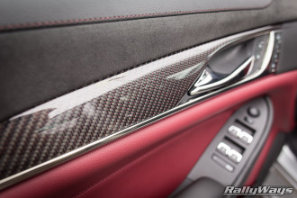 2014 Cadillac CTS Vsport Red Carbon Fiber Weave