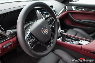 2014 Cadillac CTS Vsport Steering Wheel