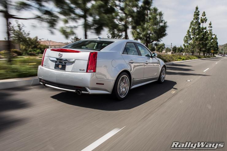 2014 Cadillac CTS-V Rolling Shot