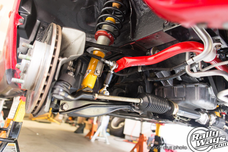 Miata Front Suspension Fully Assembled